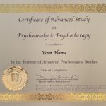 Certificate of Advanced Study